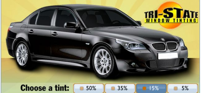 15% Auto Window Tinting