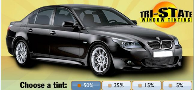 50% Auto Window Tinting